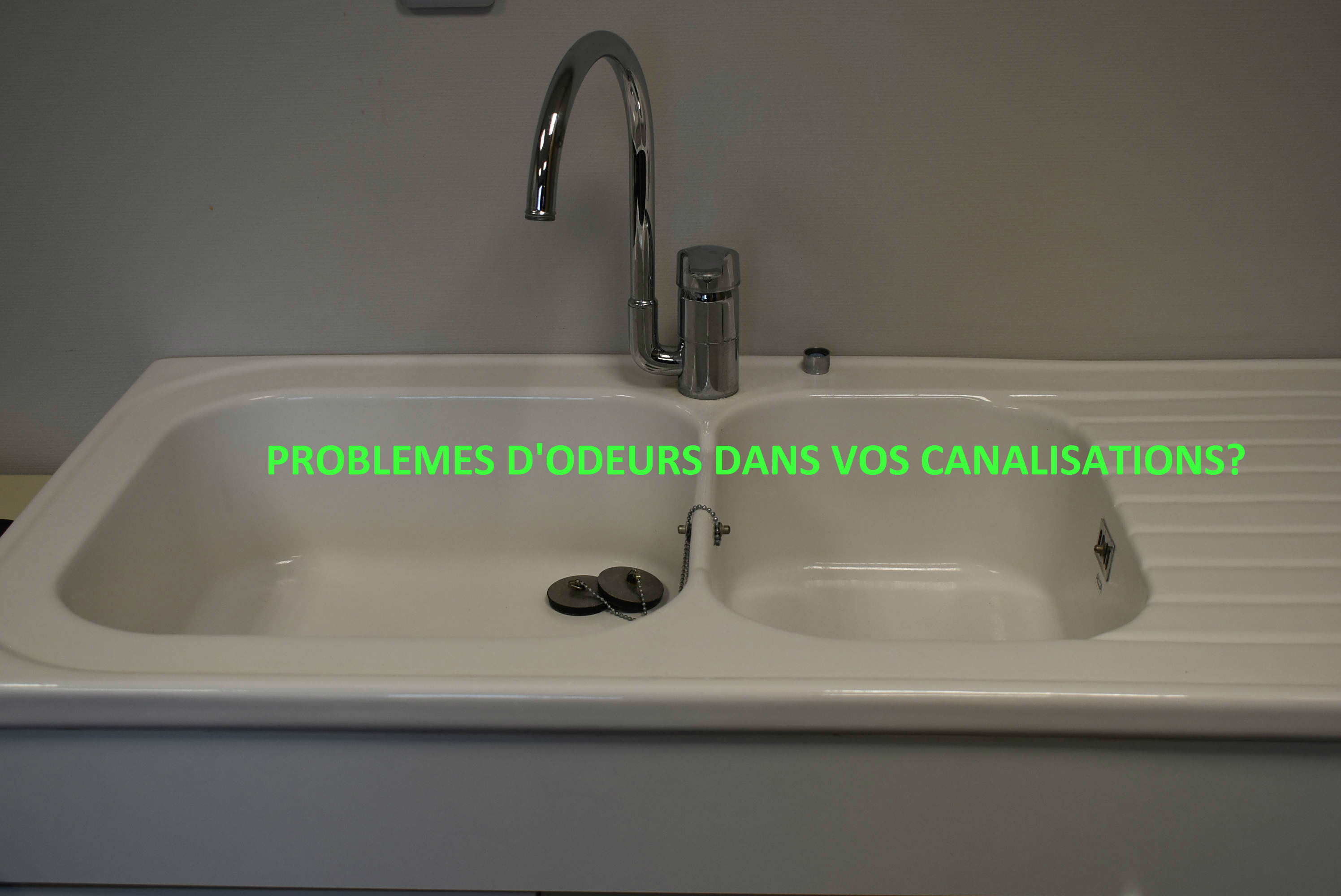 entretien canalisation evier